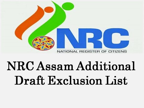 NRC Assam Additional Draft Exclusion List